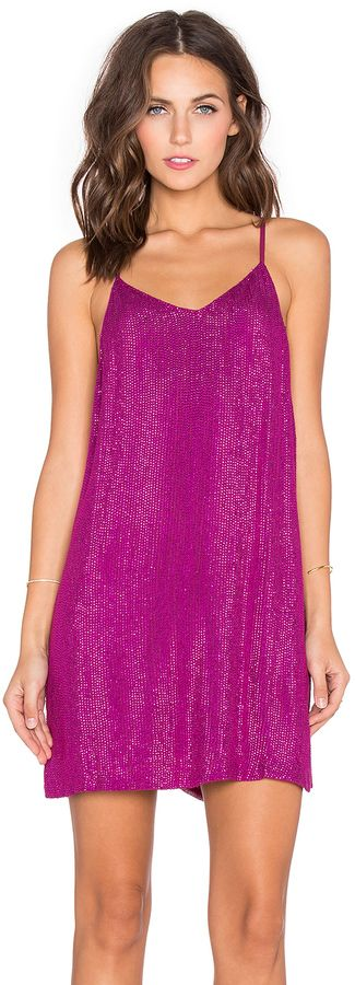 MLV Carmen Sequin Dress #magenta #pink #purple #sequin #cocktail #dress #fashion #clubwear women fashion outfit clothing style apparel @roressclothes closet ideas