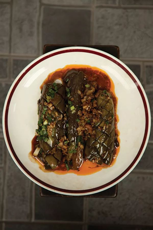 Danny Bowien of Mission Chinese Food restaurant in New York shared his eggplant frying technique for this classic Sichuan dish.