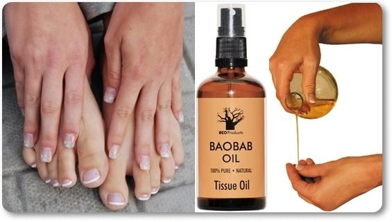 "Jill from Sunnyside who does a lot of gardening, says: ""I have nails that are so dry they often crack. I have been rubbing baobab oil directly onto my nails every morning and evening and they have stopped cracking and look healthier than ever!"""