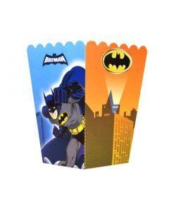 Batman Parti Malzemeleri 10 Adet Doğum Günü Mısır Kutusu