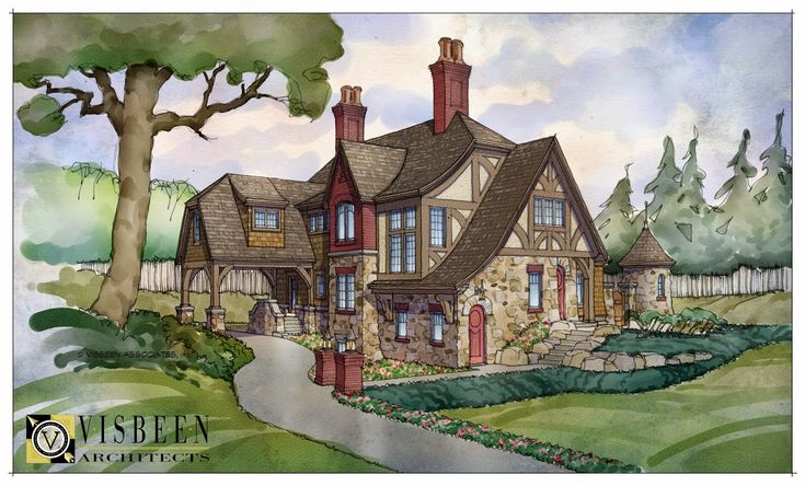 491 best images about tudor style architecture and details for Visbeen architects floor plans