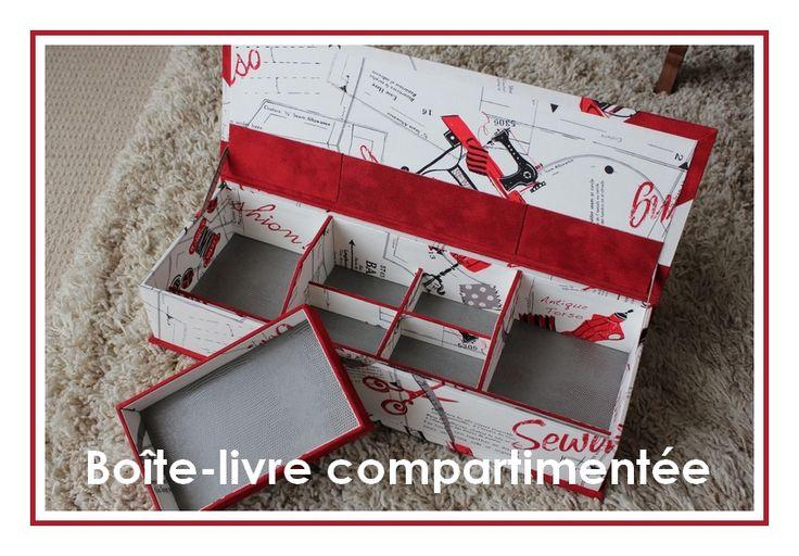 fiche explicative pour r aliser une bo te livre compartiment e en suivant ce lien http. Black Bedroom Furniture Sets. Home Design Ideas