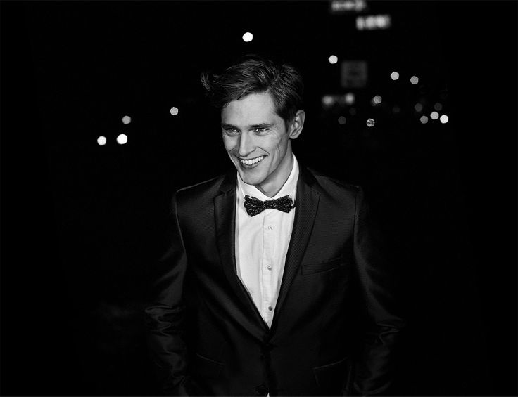 His bow-tie wafted an exotic scent... A holiday campaign by Scotch & Soda