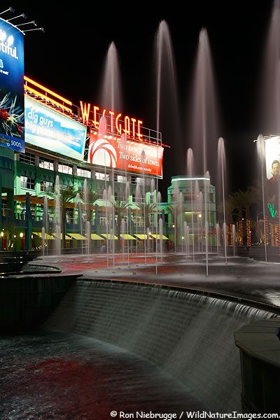Westgate Center, Glendale, Arizona -- near where we live. We go there all the time for shopping, dining, and movies.