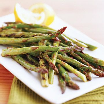 How to Cook Asparagus -  cooking guide to roast, steam, simmer, grill, or microwave the spears to perfection.