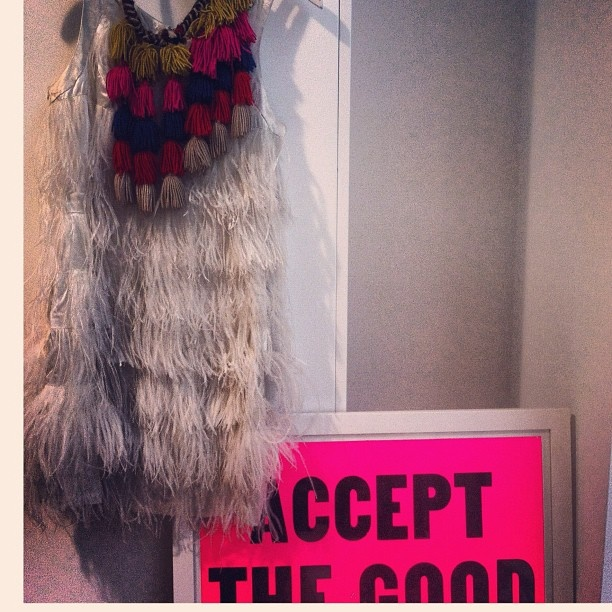 "Heidi Middleton - Sass & Bide. Instagram photo ""accept the good"""