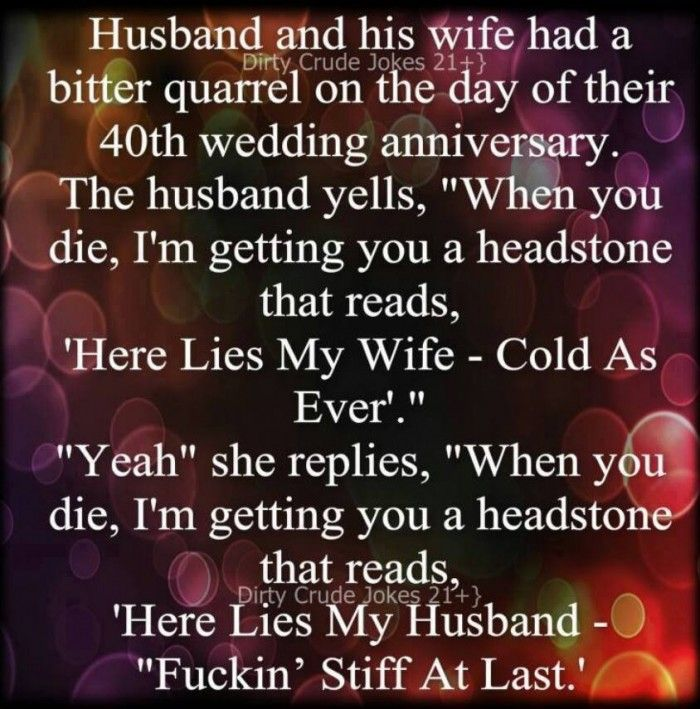 40th wedding anniversary jokes @funnycrazyviral