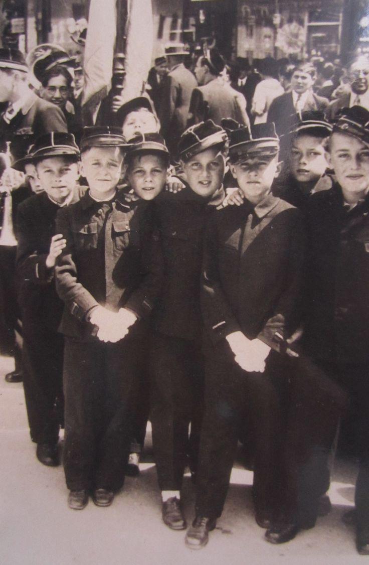 children 6th june 1935 in Kronstadt Brasso Brasov