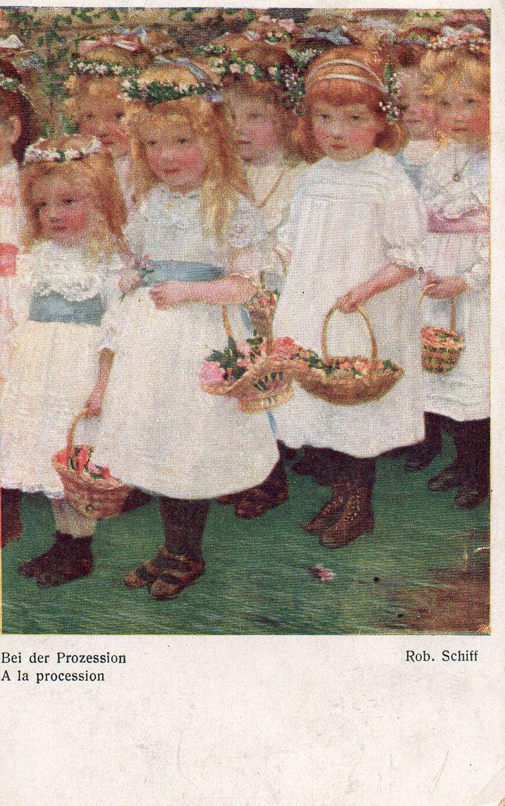 Austrian postcard. 1918