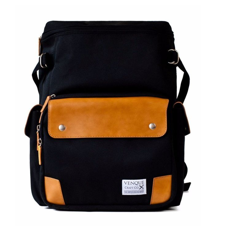 shop ethical sustainable & ethical clothing by Venque CamPro Black [PRE-ORDER]   Venque   Ethical fashion   Sustainable materials   Men   bags   Hipster   Urban   Professional Ethi