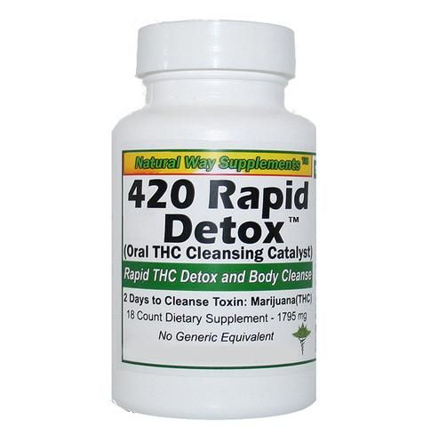 THC Detox - 420 Rapid Detox - 48 Hours to Cleanse THC Toxins