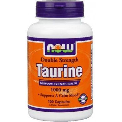 NOW FOODS Tauryna 1000 mg 100 kaps.