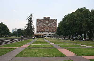 UNAM Campus where I studied spanish 1994-95.