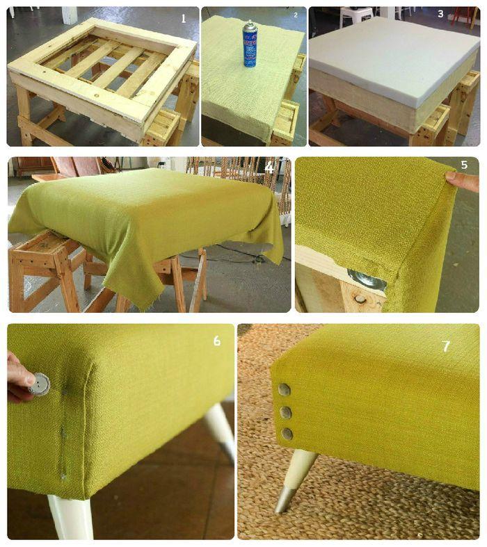 M s de 25 ideas incre bles sobre sillas de tapicer a solo for Sillon con palets reciclados
