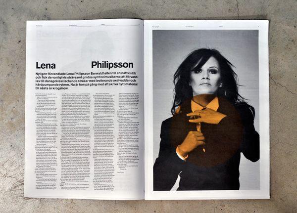 Nya Upplagan  Swedish magazine about culture and politics