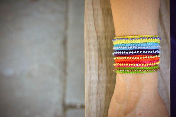 diy beaded bracelet-1-2