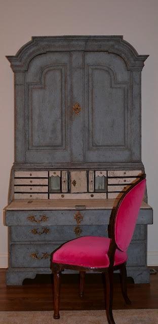 Ragland Hill Social: Driscoll Design Group:Swedish Antique Secretary