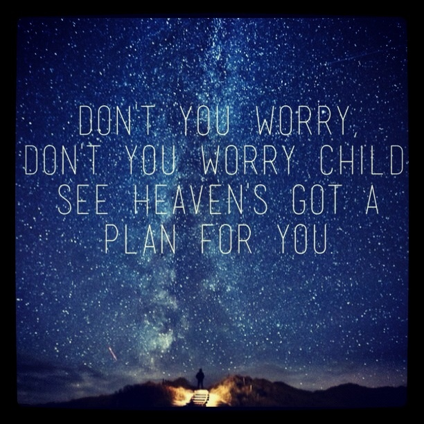 Swedish House Mafia - Don't You Worry Child (heaven 's got a plan for you) <3