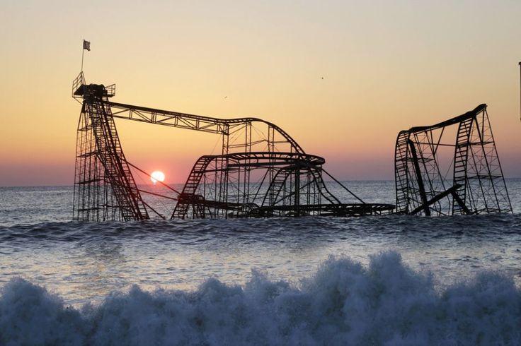 Jet Star Rollercoaster, Seaside Heights, New Jersey