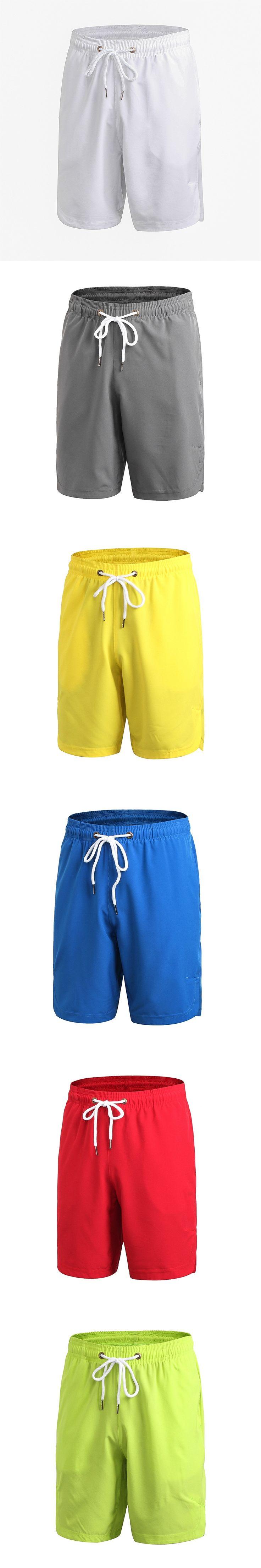 Men's Sports Shorts Fitness Running Basketball Shorts Loose Quick dry Shorts men sportswear elastic Leisure training Breathable