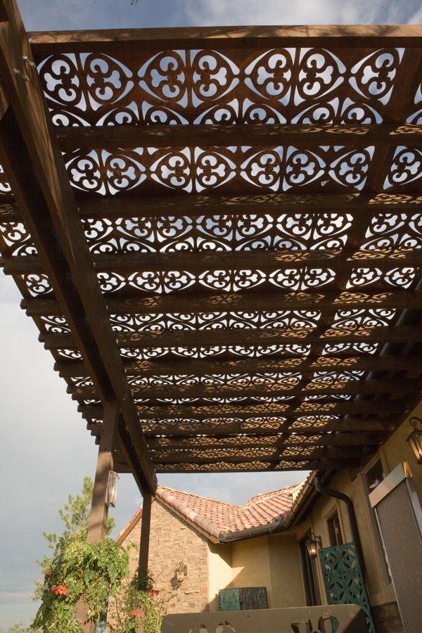 Shade Flanigan Material Copper Pattern Kenyan