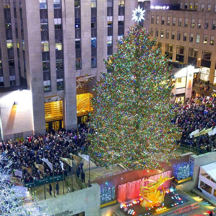 Rockefeller Center Tree Lighting 2017 In 2020