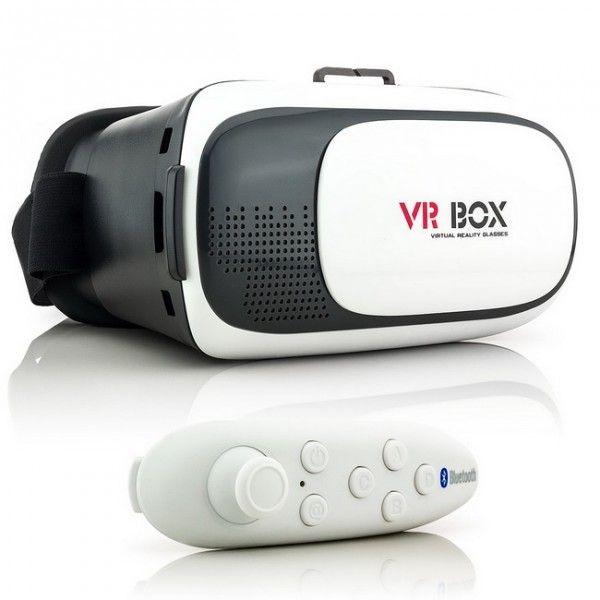 VR-Box Set 3D-Brille für Smartphones - inklusive Fernbedienung/Gamepad und Augenschutzglas #zanasta #3dbrille