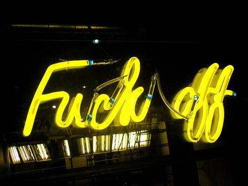 Neon - Fuck off