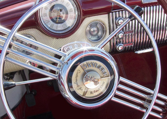 Old Car Boyfriend Gift Guy Thing For Him Car Show Art By GuyThing, $15.00