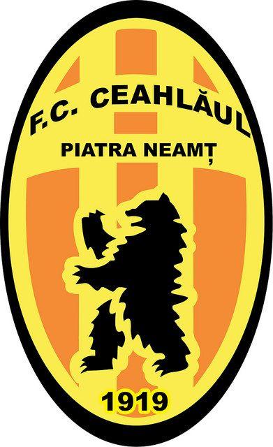 Fotbal Club Ceahlăul Piatra Neamț | Country: România / Romania. País: Rumanía. | Founded/Fundado: 1919/10/20 | Badge/Crest/Logo/Escudo.
