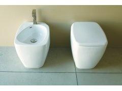 Disegno Ceramica Fluid: Bidet stojący.