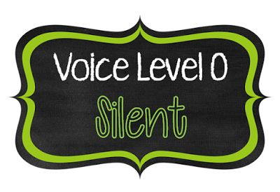 Classroom Management FREEBIE! Do your kiddos have a hard time differentiating between noise/volume levels like mine always do?  These **free** voice level posters help students understand the different voices that are used at different times.