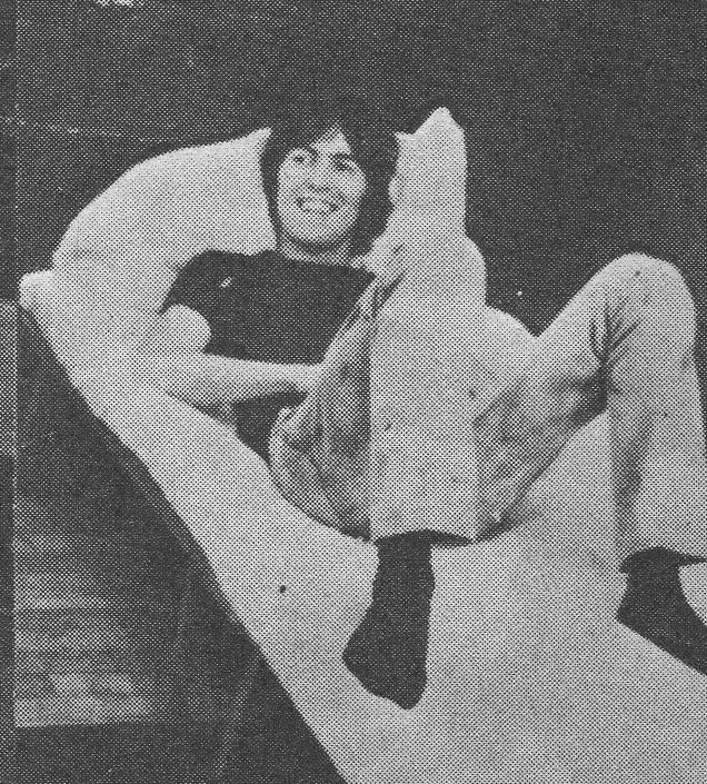George relaxing