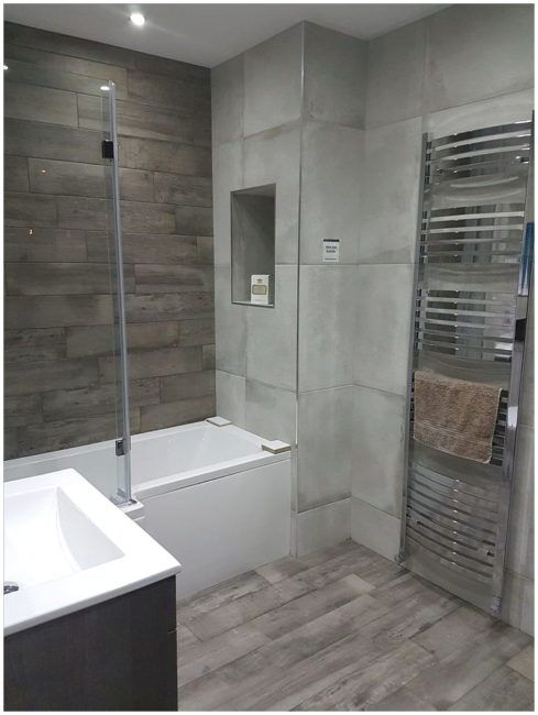 The Bathroom Tile Showroom Cover Up