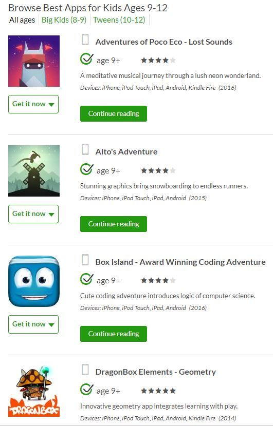 Best Apps for Kids Ages 9-12 | Online Learning for Kids