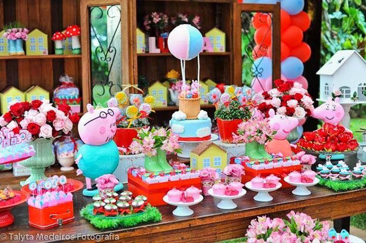 Festa Peppa Pig - Senhora Inspiração!