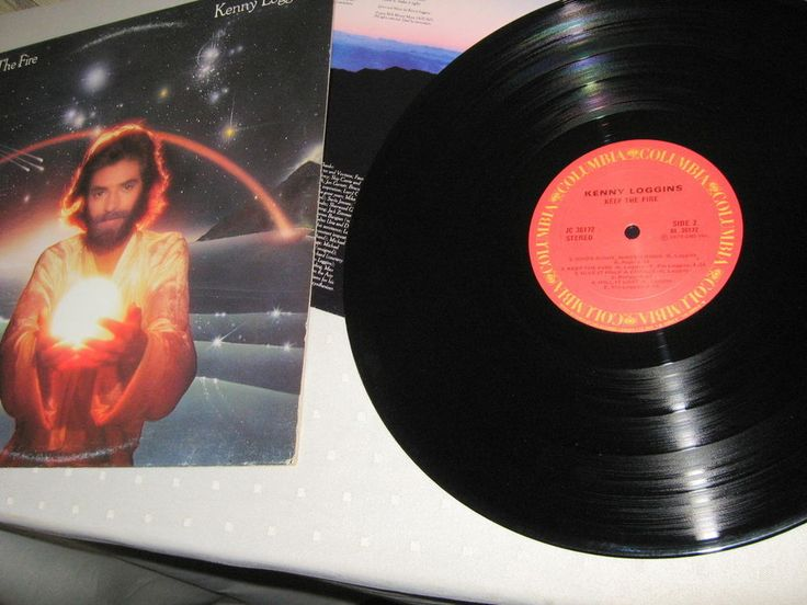 Kenny Loggins - Keep The Fire, Lp nm