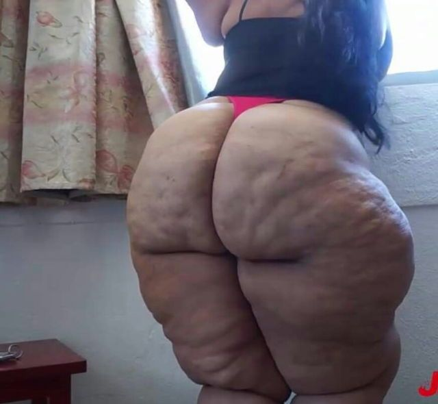 Big fat curvy mature older bbw obese thighs hips and hairy booty videos