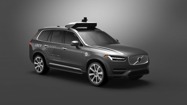 Prepare to be Underwhelmed by 2021's Autonomous Cars - MIT Technology Review    A Volvo SUV with automated driving technology developed by Uber.