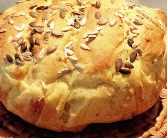 Recipe Pumpkin and sunflower seed bread by monicaih - Recipe of category Breads & rolls