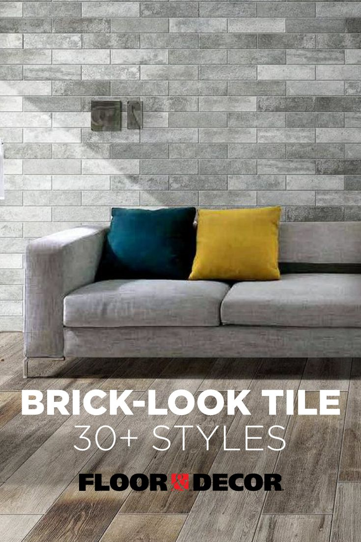 Floor Decor Has More Than 30 Brick Look Tiles To Choose From To Help You Add A Rustic Or Industrial Tou Brick Look Tile Floor Decor Minimalist Bedroom Design