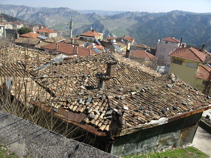 Babadağ rooftops