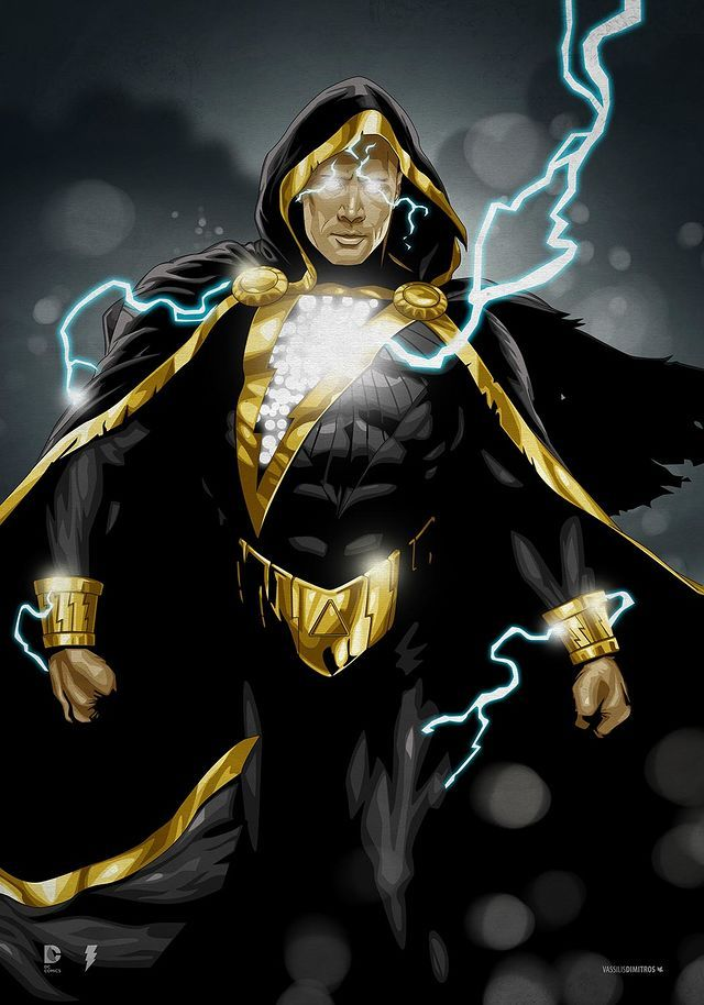 Black Adam Shazam DC Comics