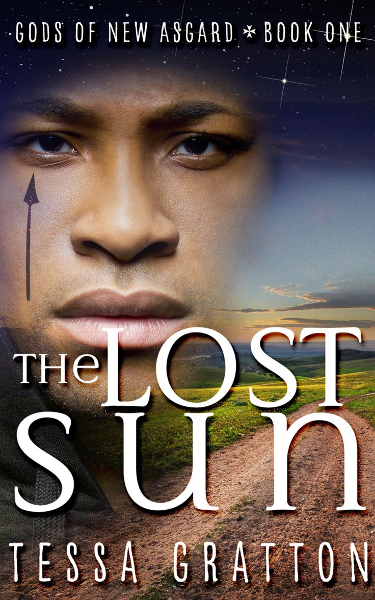#CoverReveal  The Lost Sun (The United States of Asgard, #1) - Tessa Gratton, redesign: