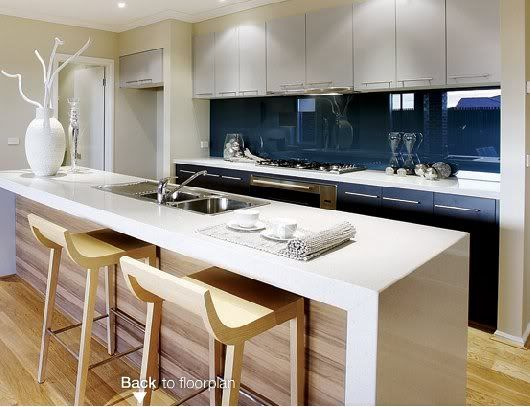 Wood Look Splashback Google Search Kitchen Pinterest