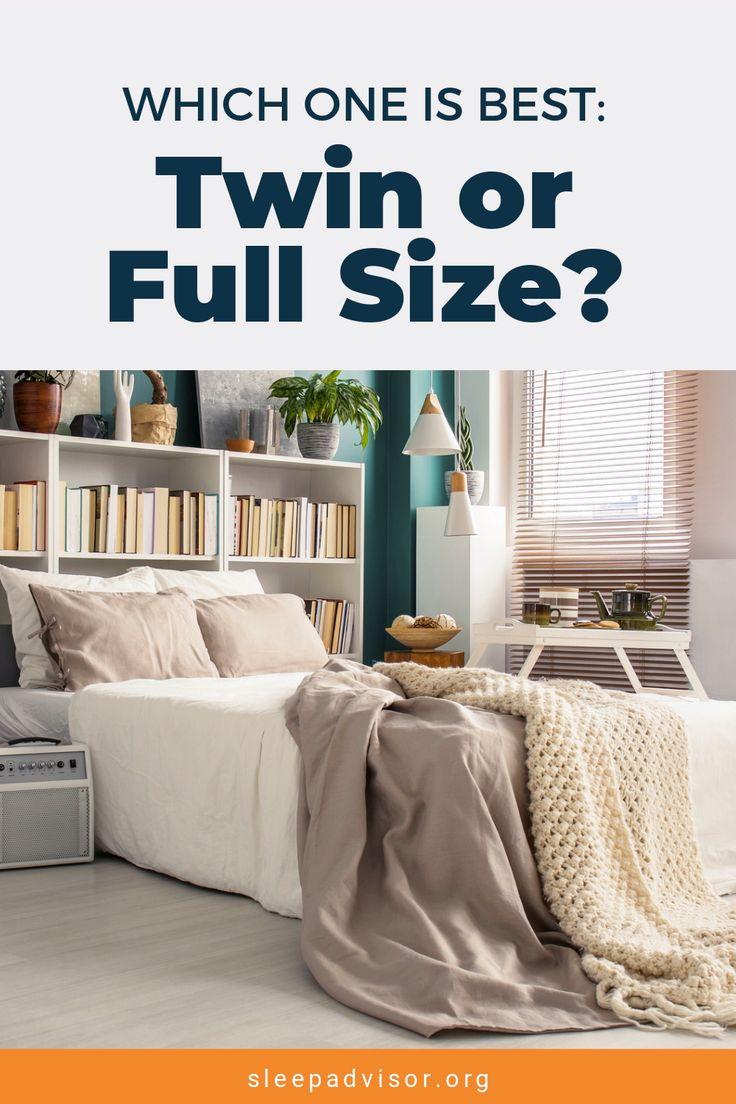 Twin vs. Full Mattress Size Comparison [Video] Best