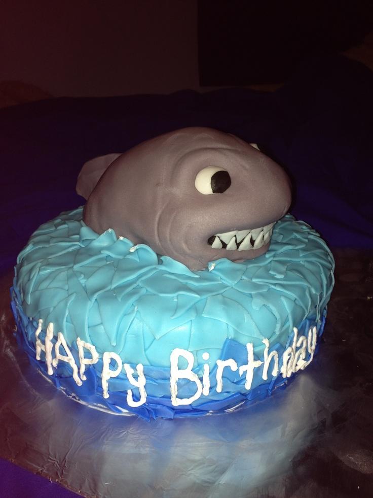 Pin Shark Tale Cakes Cake On Pinterest
