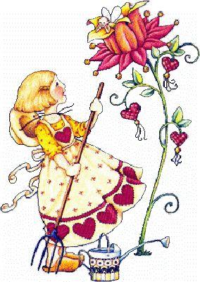 enfants mary engelbreit - Growing love