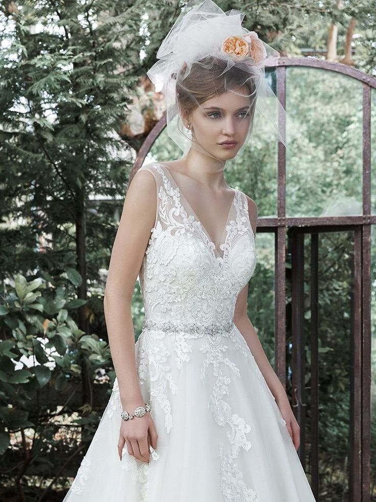 97 best Maggie Sottero images on Pinterest | Short wedding gowns ...