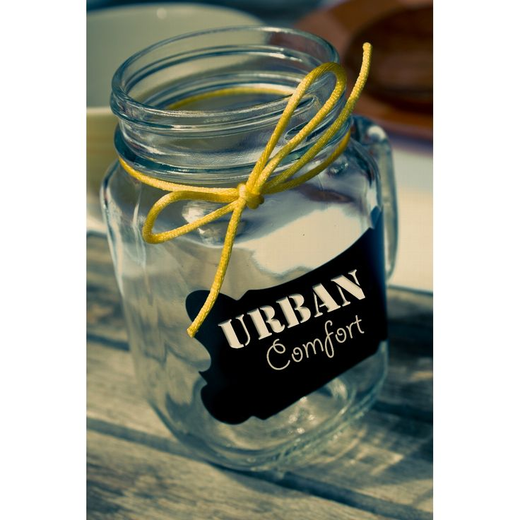 Mason Jar / Drinking Jar with Handle - 16 oz. 12 / Case